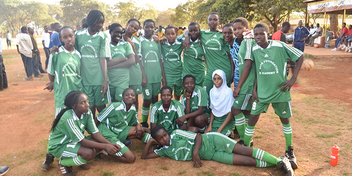 County zonal soccer games brief