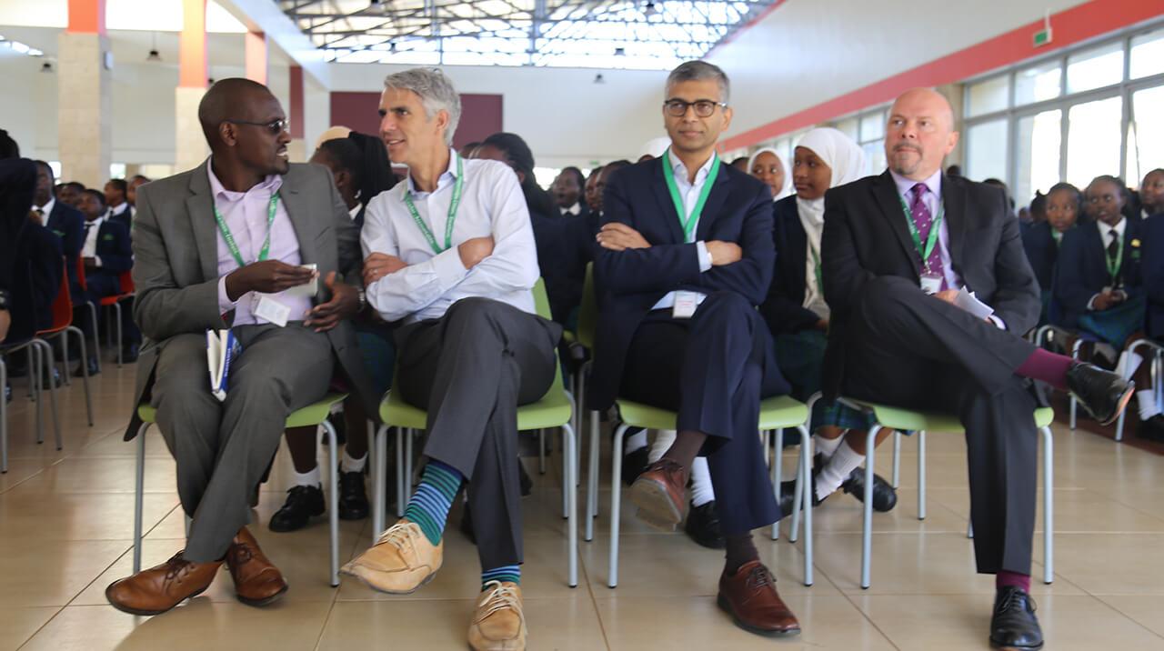 Gates Foundation Visit