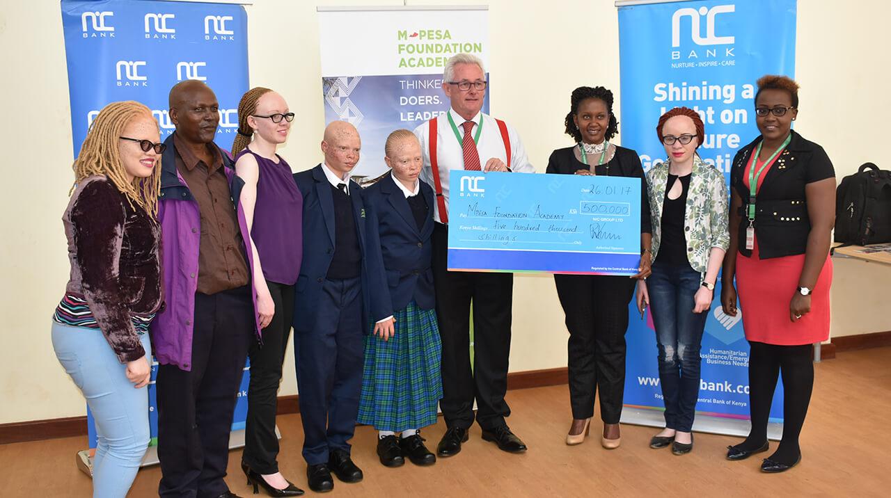 NIC Bank and M-PESA Foundation Academy Partnership