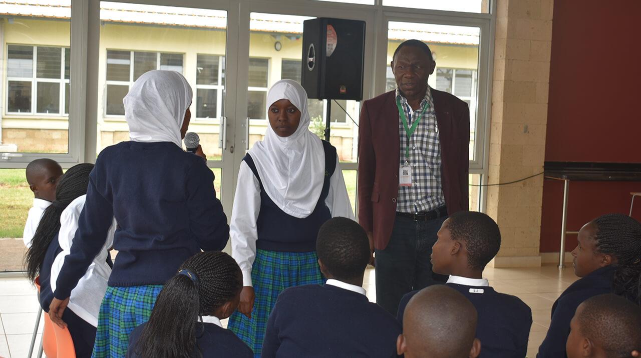 Visit by Dr. Btange Ndemo, BOG Member
