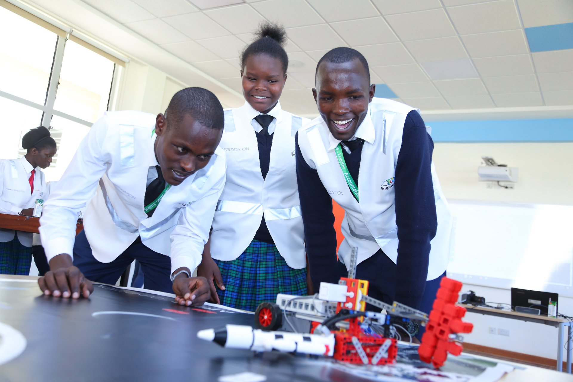 The Launch of the Airbus Little Engineer Initiative at M-Pesa Foundation Academy