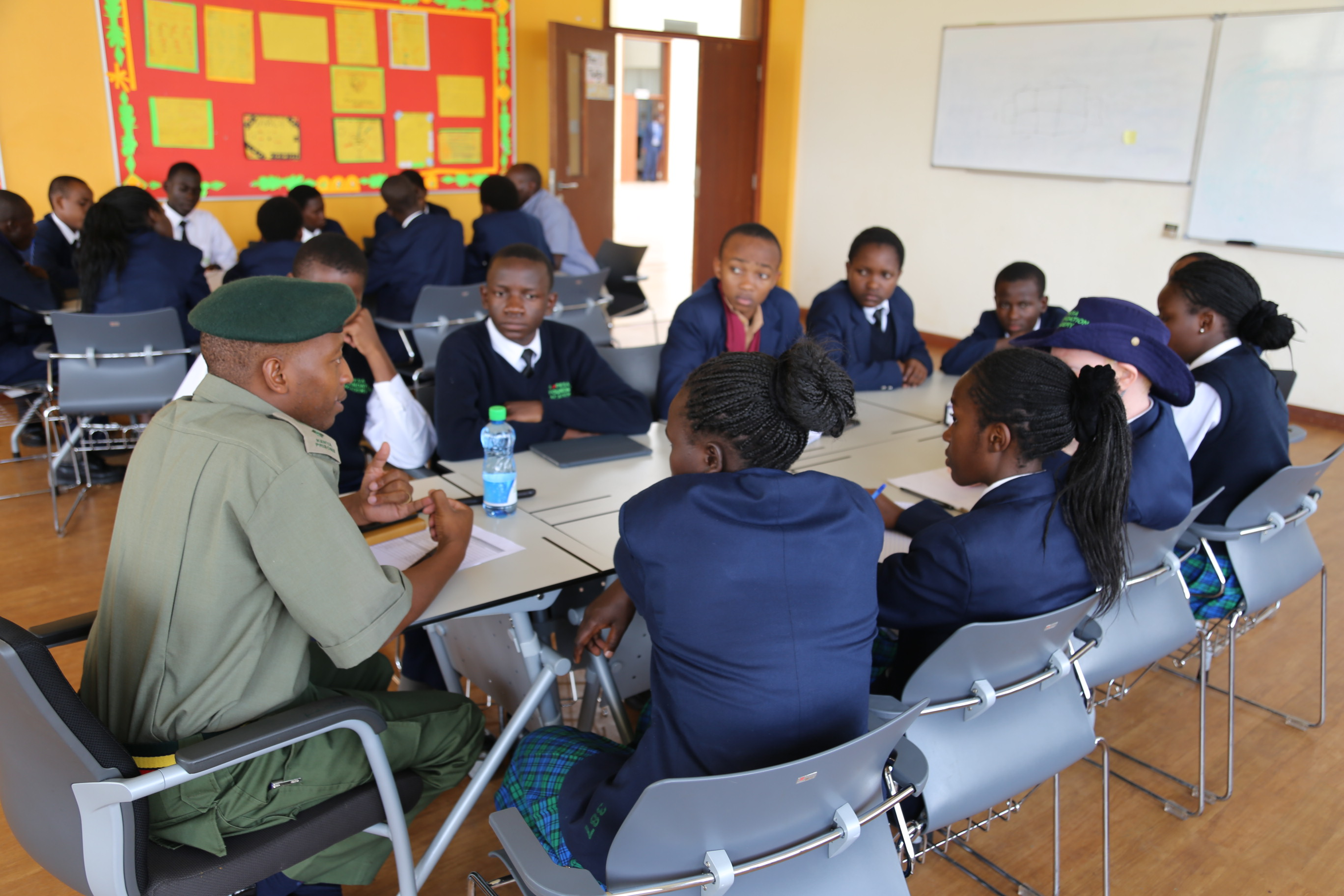 Discipline Forces Career Day