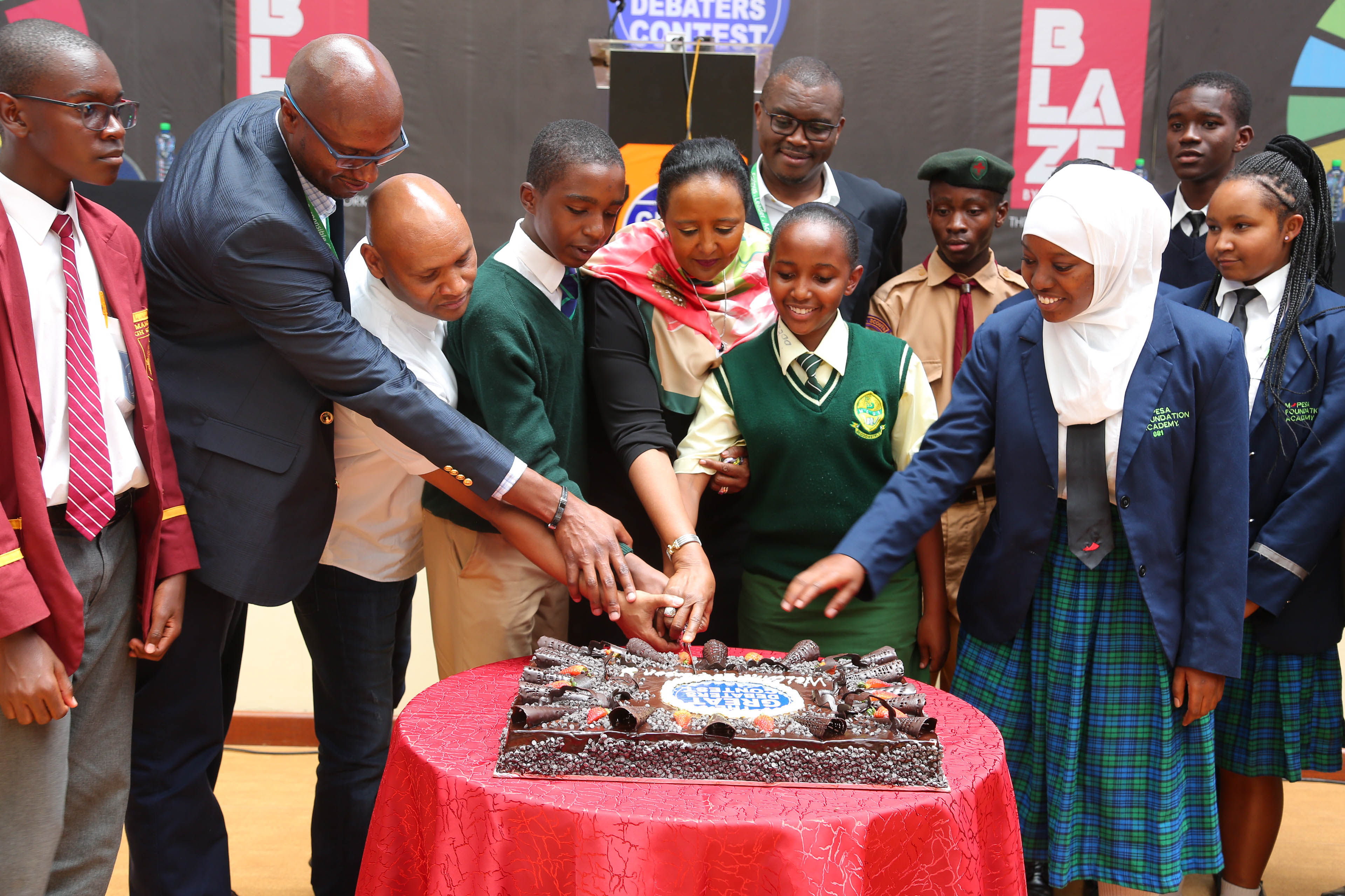 Education CS,  Launches The Great Debaters Contest at The Academy