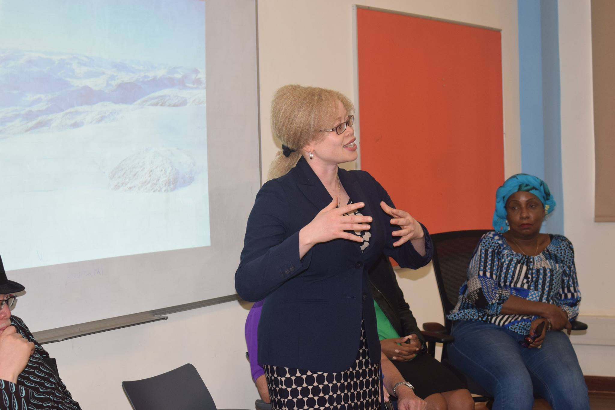 Visit By UN Expert In Albinism by Rachael Awinja